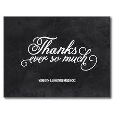 Chalkboard Thank You