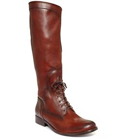 Frye Women's Melissa Lace Up Riding Boots - Shoes - Macy's