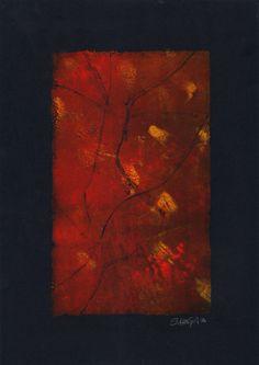 """15"" - Monotipo Painting, Art, Printmaking, Art Background, Painting Art, Kunst, Paintings, Performing Arts, Painted Canvas"