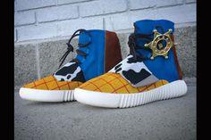 Custom Yeezy Boost Sneakers: Made by Mache Custom Kicks.