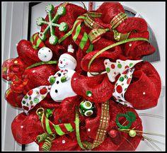 Guirnalda de Navidad guirnalda de Navidad por RedWithEnvyDesigns