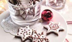 Mandľové kakaové hviezdičky