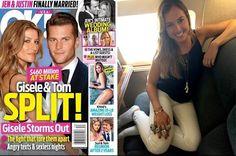 TV SAQUA TV: Suposta separação de Gisele Bündchen e Tom Brady