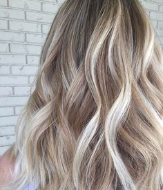 Blonde With Dark Roots, Beautiful Hair Color, Glam Hair, Cut And Style, Blondes, Hair Colors, Cute Hairstyles, Hair Goals, Hair Inspiration