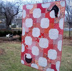Sewn: The Chicken Quilt