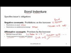 CFA Level I Features of Debt Securities Video Lecture by Mr. Arif Irfanullah Part 1 - YouTube