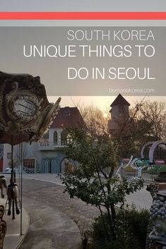 Seoul has lots to offer for tourists, from the mainstream tourist attractions to more unique things to do in Seoul. This guide included the Trick Eye Museum, Seodaemun Prison, an abandoned amusement park, the Oil Tank Culture park and more cool places to visit in Seoul!