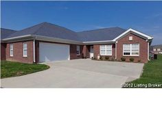 231-13 BULLITT CREEK DR SHEPHERDSVILLE, KY 40165   Come check out this ALL BRICK condo community with a more rural atmosphere. Notice the larger square footage than surrounding condo's in area 11. This home features a separate Dining Room which is open to the Great Room with gas fireplace