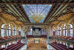 Palau de la Música Catalana | Barcelona, Spain | Lluís Domènech i Montaner