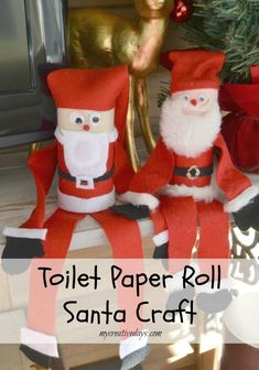 Santa craft ideas