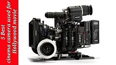 (1) movie cameras used in hollywood at present - YouTube