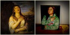 """untitled"" - 2012  (v.interpretation)   x   Oils on canvas"
