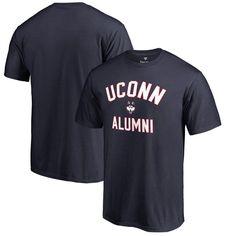 UConn Huskies Fanatics Branded Big & Tall Team Alumni T-Shirt - Navy