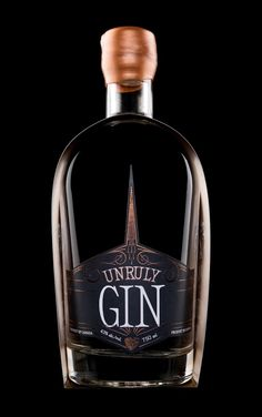 Hired Guns Creative - Unruly Vodka and Unruly Gin #Packaging #Design — World Packaging Design Society / 世界包裝設計社會 / Sociedad Mundial de Diseño de Empaques