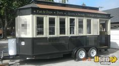 2011 - 8.5 x 20 Trolley Style Concession Trailer!!! Built by Pig Sooie, Inc. (501)529-2464
