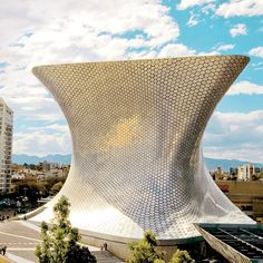 The Museo Soumaya in Mexico City, designed by Fernando Romero and home to the art collection of business magnate Carlos Slim Hélu.