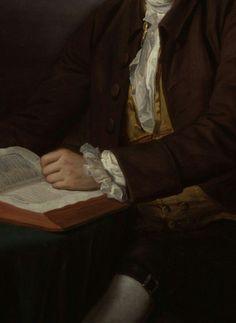Arthur Murphy (detail) Nathaniel Dance Holland Oil on canvas c. 1777