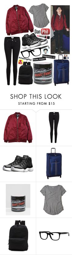 """""""Untitled #279"""" by mcrsarah ❤ liked on Polyvore featuring Stussy, A.N.D., Paige Denim, NIKE, Tommy Hilfiger, Manic Panic NYC, Hollister Co., Vans, Bobbi Brown Cosmetics and Rimmel"""