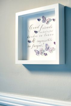 Beautiful handmade box frame picture with a by HarveySmithDesigns                                                                                                                                                                                 More
