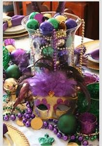 mardi gras decorations | MARDI GRAS | Decorations for Parties/Ideas