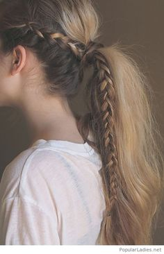 simple-side-braid-into-a-pony-tail