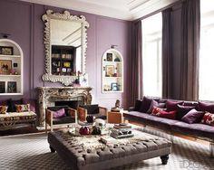 Jorge and Ann-Marie (Casamidy) living room in Belgium - ELLE DECOR
