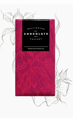 Project Love: Wellington Chocolate Factory. Interesting way to integrate final product with process