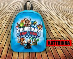 Skylanders Trap Team Design for School Bag Backpack for Children Small size Middle size Large size