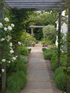 paved side yards | Path paving ideas landscape traditional with paved garden ...
