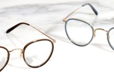 The 18K Gold Collection from Oliver Peoples Oliver Peoples, 18k Gold, Glasses, Collection, Eyewear, Eyeglasses, Eye Glasses