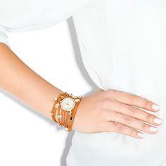 Embellished Wrap Watch