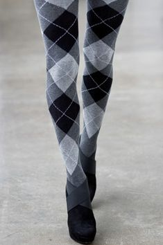 sweater tights: I like this style and color
