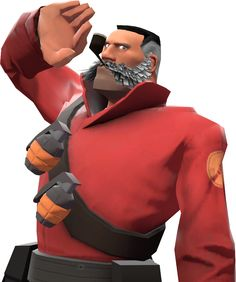 Lord Cockswain's Novelty Mutton Chops and Pipe - Official TF2 Wiki | Official Team Fortress Wiki