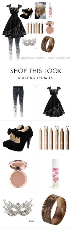 """""""Magical Girl AU!Amelia E. Jones Character Set"""" by wowza-stars ❤ liked on Polyvore featuring Reebok, Blossom and Vintage"""