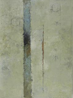 "Tom Sargeant, ""Vertical Scheme"", acrylic on canvas"