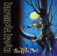 "Metal Gods IRON MAIDEN released their iconic album ""Fear of the Dark"" 27 years ago today. This was the last album with Bruce Dickinson before he returned back in When was the first time you saw Iron Maiden live? Albums Iron Maiden, Iron Maiden Album Covers, Iron Maiden Cd, Eddie Iron Maiden, Rock And Roll, Pop Rock, Def Leppard, Bruce Dickinson, Blues Rock"
