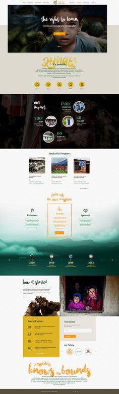 """다음 @Behance 프로젝트 확인: """"Sambhav Nepal - non profit organization website design"""" https://www.behance.net/gallery/57017227/Sambhav-Nepal-non-profit-organization-website-design"""