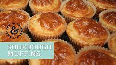 Sourdough Muffins Poppy Seed