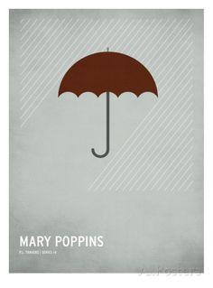 Mary Poppins Kunstdruk