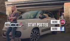 Fiat have an online campaign which is advertising their new Fiat 500L people carrier. Now personally people carriers are somewhat alien to me, considering I don't have a family, and if I did, I consider them to be the most uncoolest vehicles ever!