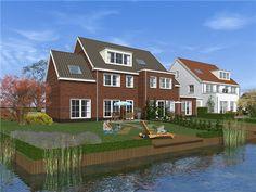 Wilgentuinen - Rozenburg, prijs €309.500,- tot €399.750,-, woonoppervlakte 137 m² tot 159 m². De woningen liggen op een prachtig stukje Rozenburg. De naam ontleent het project aan de knotwilgen die er staan. Het project is omzoomd door water en bestaat uit twee aparte eilanden, die met een sfeervolle brug met elkaar verbonden zijn. Rozenburg heeft haar inwoners veel te bieden. Het inwoneraantal van ruim 12.000 maakt dat er een uitstekend voorzieningenniveau is.