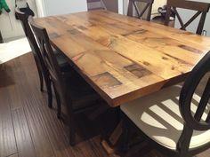 RSL Custom Furnishings Barn Beam table