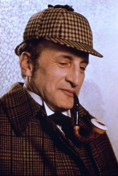 George C. Scott as Sherlock Holmes (?) in THEY MIGHT BE GIANTS with Joanne Woodward as Watson.
