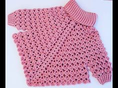 Crochet Baby Poncho, Crochet Baby Sweaters, Crochet Girls, Newborn Crochet, Knitting For Kids, Baby Knitting, Poncho With Sleeves, Girls Poncho, Lace Knitting Patterns