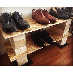 2016/06/08 20:16:27 masato3ma D.I.Y!! #shoes #diy #leather #wood #alden #オールデン #コードバン #大塚製靴 #革靴 #靴磨き #gentleman #大人の嗜み #良いものを長く #そー言い聞かせて買いまくる #靴磨き教わりたい #革靴好き #次は #alenedmonds #が欲しい