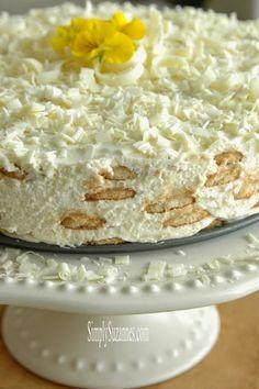 Lemon Honey Cream Ice Box Cake