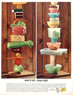 Vintage Consumer Goods Advertisements (Tupperware, 1962)