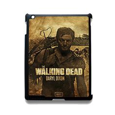 The Walking Dead Daryl Dixon TATUM-11075 Apple Phonecase Cover For Ipad 2/3/4, Ipad Mini 2/3/4, Ipad Air, Ipad Air 2