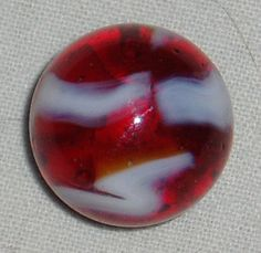 Peltier Marble Ruby Slipper 3/4 by dayspringcollectible on Etsy