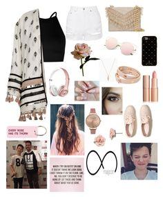 Going To One Of Jacobs MAGCON shows by magcult-member on Polyvore featuring polyvore, fashion, style, Boohoo, River Island, Topshop, Hollister Co., Cynthia Rowley, Tory Burch, Olivia Burton, 1928, Kate Spade, Various Projects, Abigail Ahern and clothing